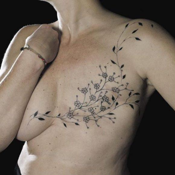 Art corporel après ablation du sein